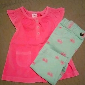 Baby Girl Outfit Size 12 months